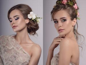 Makijaż ślubny wykonany przez Agatę Szulc